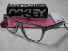 Authentic Oakley Frogskins Checkbox Silver Sunglasses Frame