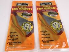 HotHands HFINSPDQ Insole Foot Warmers with Adhesive 2 packs (4 insoles) S92