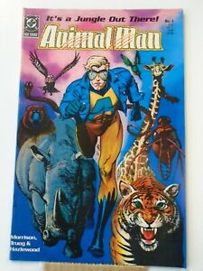 DC Comics ANIMAL MAN #1 (1988) Brian Bolland Cover