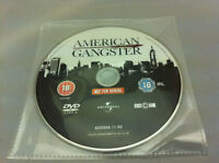 American Gangster DVD R2 PAL - DISC ONLY in plastic sleeve