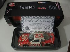 NASCAR Authentics #23 Jimmy Spencer: Winston No Bull (1:24 scale) NEW w/case