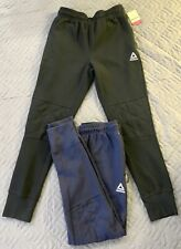 Reebok Double Cross Quilted Jogger Black And Blue (Can Meet Up In LA)