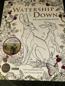 Watership Down: The Colouring Book  Fun Activity Gift NEW