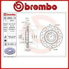 09.A652.1X#36 DISCO FRENO POSTERIORE SPORTIVO BREMBO XTRA VW NEW BEETLE (9C1, 1C