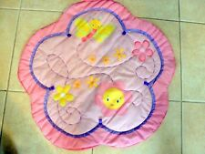 Bright Starts Pretty In Pink Activity Gym Mat Pinks Sun Butterfly - Mat Only