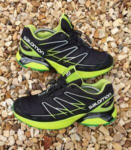 Salomon Wings Flyte 2 GTX Trail Running Shoe Size UK 9.5 EU 44 Gore Tex Retro