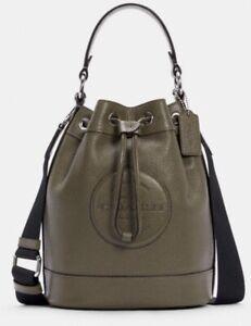 $378 NEW~Coach DEMPSEY DRAWSTRING BUCKET BAG