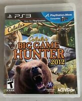 Cabela's Big Game Hunter 2012 (Sony PlayStation 3, 2011) PS3 Complete w/ Manual