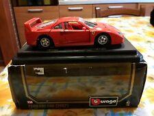 BBurago scala 1/24 Ferrari F40  1987 burago with BOX