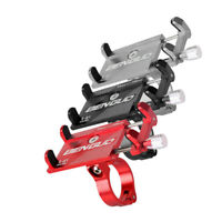 Aluminum For Motorcycle Bicycle Bike MTB Mobile Phone Holder Bracket Mount Stand