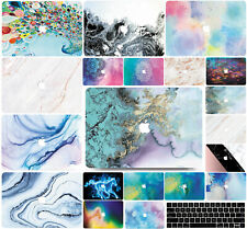 Marble Hard Shell Case Cover & Keyboard Cover Apple Mac Book Air Macbook Pro MF