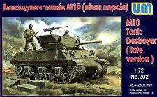UM 1/72 202 WWII US M10 Tank Destroyer (Late Version)