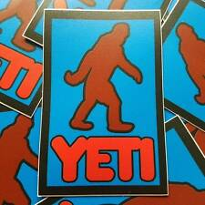 """3 Pack of YETI Stickers - 4.25""""x2.75"""" inspired by gtav gta5"""