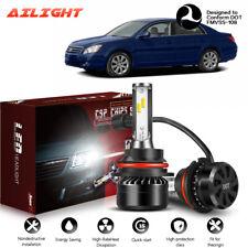 2x 9007 HB5 Headlight Hi/Lo Beam LED Bulbs White Lights Headlamp 6000K 12000LM