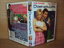 Down With Love (DVD, 2004) - Region 4 Comedy DVD Rated M Like NEW  Ewan McGregor