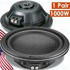 2x Kenwood KFC-XW1000F 1000 Watts Shallow-mount 10