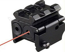 Detachable Picatinny Rail Red Laser Sight Fit For Crossbow Rifle Airsoft Pistols