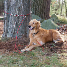 Snap Around 2 Piece Dog Tree Tie Out Tether Cable Secure System Hold Up To 60lbs