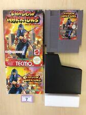 NES Shadow Warriors Ninja Gaiden from Tecmo