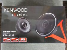 "KENWOOD KFC-X134 KFCX134 5 1/4"" WOOFER 1"" TWEETER FLUSH MOUNT SPEAKERS 5.25"" NR"