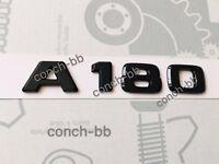 Mercedes A180 Badge Emblem Decals New Style Gloss Black