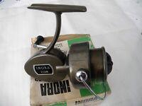 Vintage boxed Inora 2128 Fixed spool Fishing reel