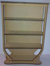 1:12 Scale Art Deco Shelf Unit Kit