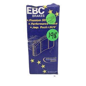EBC Brakes Premium Street DP31860C Truck Fits Jeep And SUV Duty Disc Brake Pads