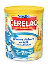 400g Nestle Cerelac Banana and Wheat with Milk From 7 Months