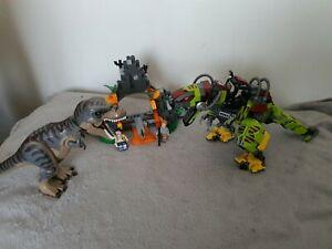 Lego Jurassic World T-Rex vs Dino Mech Dinosaur Battle 75938 read description