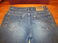 LEVIS 550 RELAXED FIT VINTAGE USA CLASSIC JEANS SZ 34 x 34 Tag 36 x 34 BEST D47r