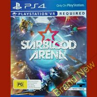 STARBLOOD ARENA - PlayStation 4 PS4 ~ Import - Brand New & Sealed VR Required
