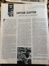 L1-6 Ephemera 1959 Article 3 Pages Ronnie Clayton Football Blackburn Rovers