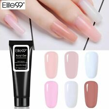 Nail Builder UV Gel Transparent Clear Camouflage Color Fibre Glass Hard Elite99