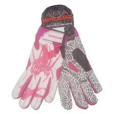 Spiderz HYBRID XXL Adult Batting Gloves BCA Ribbon White/Pink, White Palm NEW