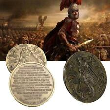 Roman Legionnaire Constantine Crusader Put on the Whole Armor of God Coin Medal