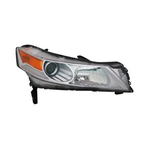 FIT FOR ACURA TL 2009 2010 2011 HEADLIGHT W/HID RIGHT PASSENGER