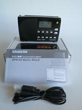 SANGEAN DPR-65 Digital Radio Basic Black DAB+ FM-RDS Receiver  TOP mit OVP