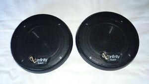 "Infinity Kappa CS-4 MkII 4"" / 100mm 4 ohm midbass car audio speakers pair"