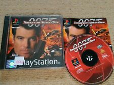 007 TOMORROW NEVER DIES  - Rare Sony PS1 Game
