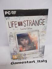 LIFE IS STRANGE LIMITED EDITION - PC - NUOVO SIGILLATO VERSIONE ITALIANA - NEW