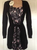 Ladies Bargain Miss Sixty Killah Collection Cardigan Good Quality Dress UK M
