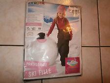 Salopette Pantalon ski FILLE 12-24 mois 86/92 cm LUPILU qualité Neuve.