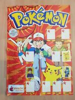 Pokemon Topps Sticker Poster Series 1  - Complete Merlin Collections 1999