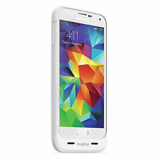 mophie Juice Pack 100 for Samsung Galaxy S5 Extra Battery Case White 810472023274
