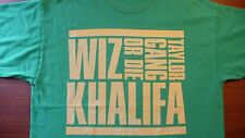 Whiz Khalifa T-Shirt XL Taylor Gang or Die 100% Cotton Vintage FREE SHIPPING