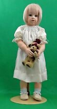 26-Inch Porcelain Doll -Bell mold  Ursla Walter - real silk clothes