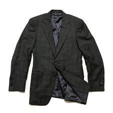 Canali Blazer Jacket 38 R US / 48 Shadow Plaid Men's