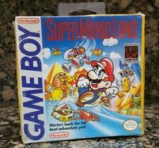 Super Mario Land Nintendo Game Boy 1st Print Brand New Factory Sealed Bros Nes 3