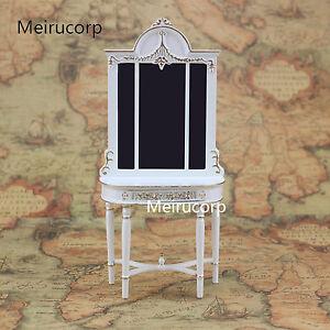 1/12 scale doll house miniature furniture white Handmade gilt Porch Ark